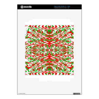 Holiday Candy iPad 2 Decals