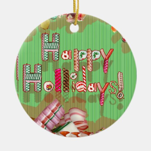 Holiday Candy Ornaments