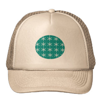 Holiday Cap with Green Ornament Trucker Hat