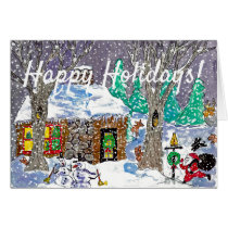 Holiday Card by Denny Plesea for Ruby Lane