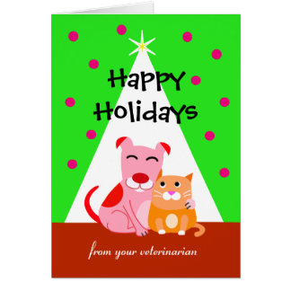 Holiday Card from Pet Care Professional