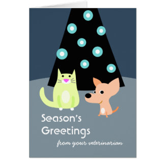 Holiday Card from Veterinarian