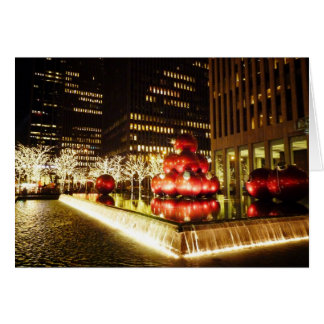Holiday Card - Holiday Lights - New York