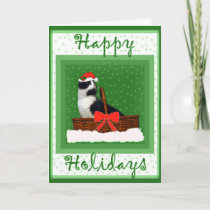 Holiday Card - Oreo