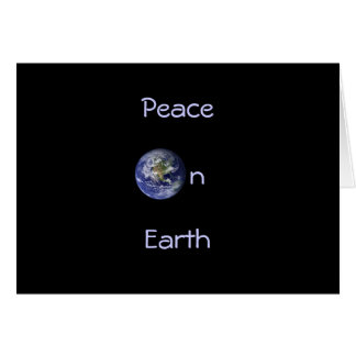 Holiday Card: Planet Earth Card