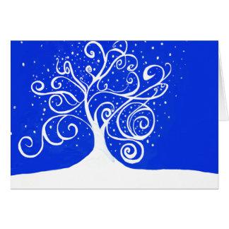 Holiday Card-Winter Tree Card