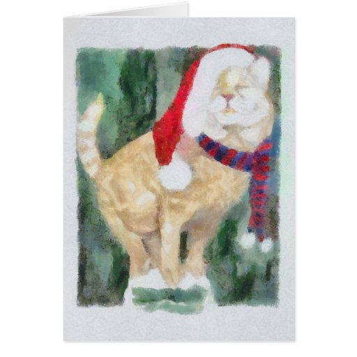 Holiday Cat Cards