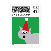 Holiday Cat Postage