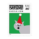 Holiday Cat Postage Stamps