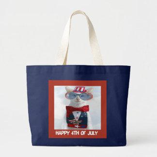 Holiday Cat Tote Bag