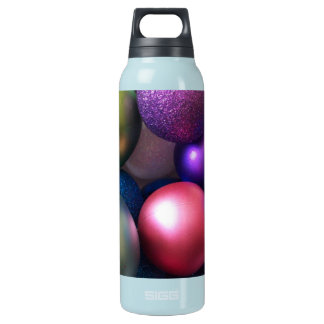 Holiday celebration insulated water bottle