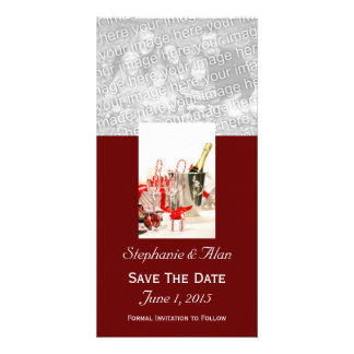 Holiday Celebration  Save The Date PhotoCards Card
