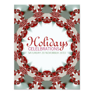 Holiday Celebrations custom Invitations