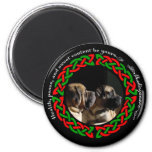 Holiday Celtic Mastiff Magnet