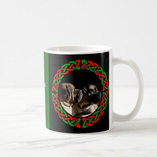 Holiday Celtic Mastiff Mug