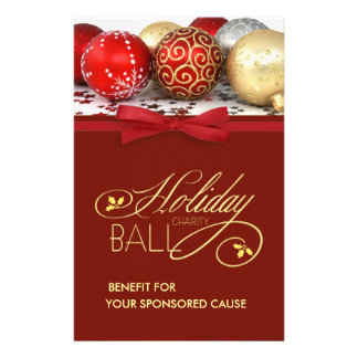 Holiday Charity Event Flyers - Medium Size