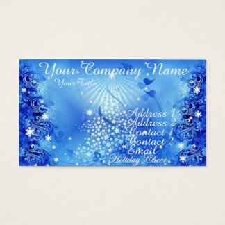 Holiday Cheer Business Card