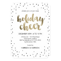 Holiday invitations invitation templates zazzle holiday cheer business holiday party invitation stopboris Gallery