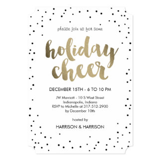 Holiday party Invitations, Cards & Announcements | Zazzle