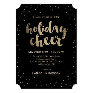 Holiday Cheer Business Holiday Party Invitation