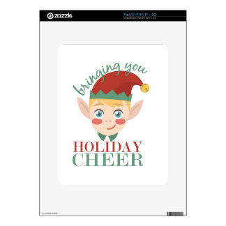 Holiday Cheer Decal For iPad