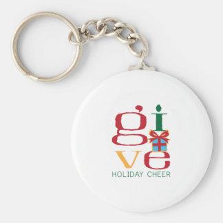 Holiday Cheer Keychain