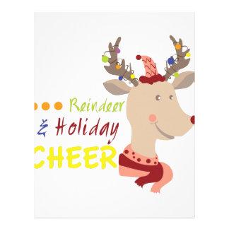 Holiday Cheer Letterhead