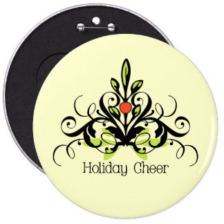 Holiday Cheer Pinback Button