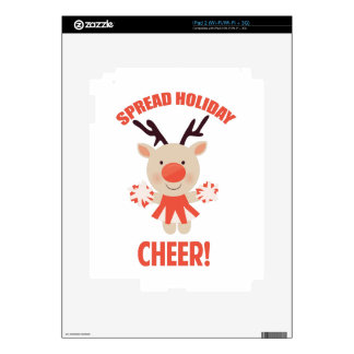 Holiday Cheer Decals For The iPad 2