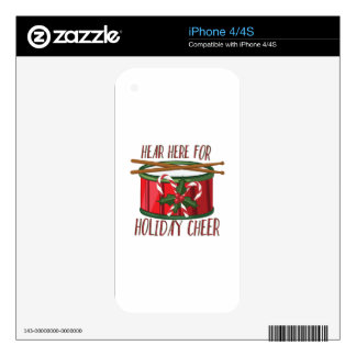 Holiday Cheer Skin For The iPhone 4
