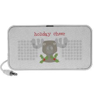 Holiday Cheer Laptop Speaker