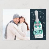 Holiday Cheers! Photo Christmas Card