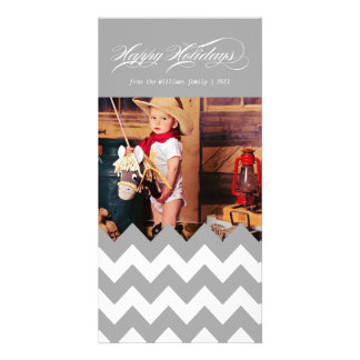 Holiday Chevron Card