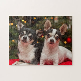 Holiday Chihuahua's Jigsaw Puzzle