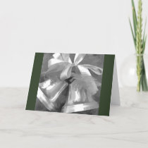 Holiday Christmas Card - Bells In Black & White