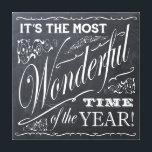 "holiday Christmas chalkboard Canvas Print<br><div class=""desc"">holiday Christmas chalkboard</div>"
