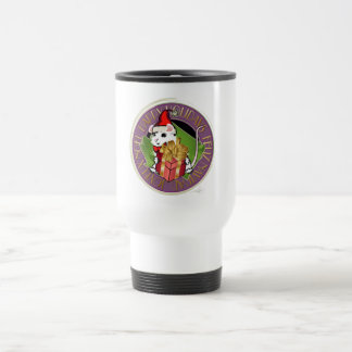 Holiday Christmas Mouse Travel Mug