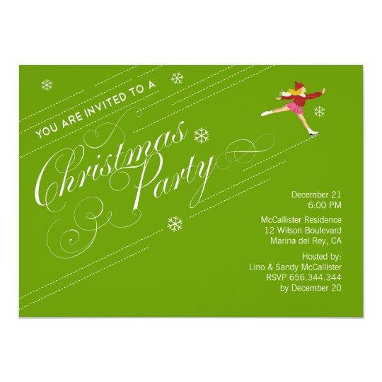 Holiday Christmas  Party Custom Invitations