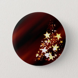 Holiday Christmas Tree Button