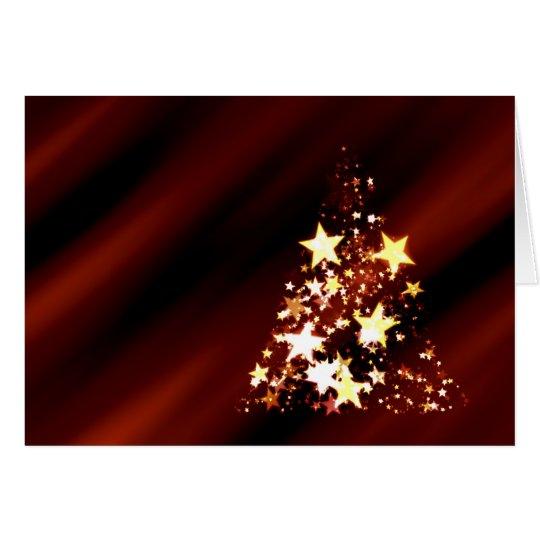 Holiday Christmas Tree Card