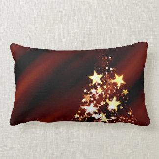 Holiday Christmas Tree Lumbar Pillow