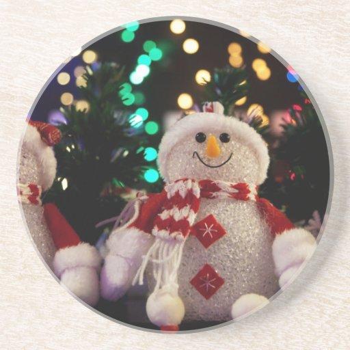 Holiday Christmas Tree Party Destiny Celebration Coaster