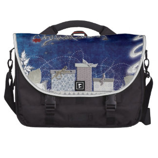 Holiday Christmas Tree Party Destiny Celebration Commuter Bags