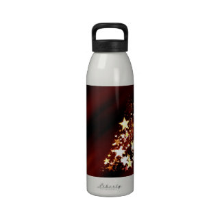 Holiday Christmas Tree Water Bottles