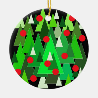 Holiday Christmas trees. Christmas Ornaments