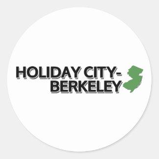 Holiday City-Berkeley, New Jersey Classic Round Sticker