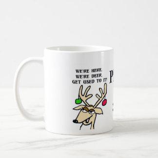 Holiday Coffee Mug- Prancer Gay!