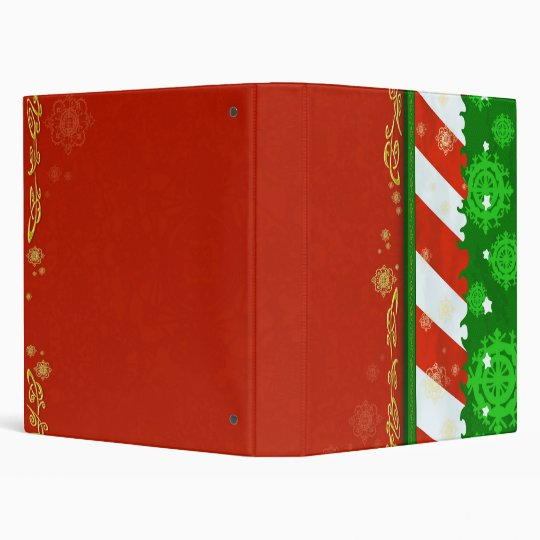 Holiday Colors Binder