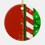 Holiday Colors Christmas Ornament