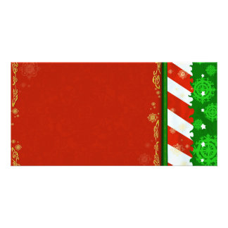 Holiday Colors Custom Photo Card